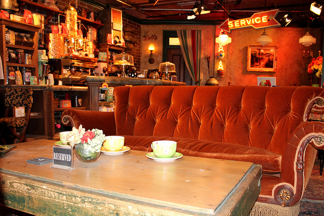 Central Perk Set from Friends television show.
