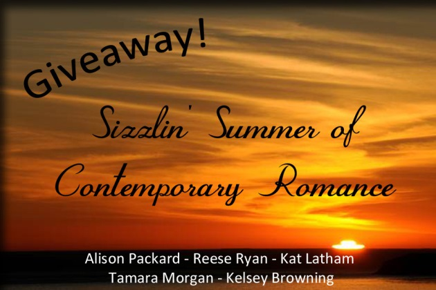 Sizzlin' Summer of Contemporary Romance Giveaway
