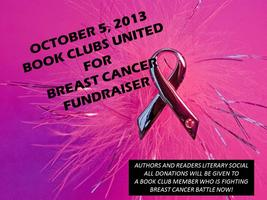 Book Clubs United for Breast Cancer Fundraiser -- Greensboro, NC October 5, 2013