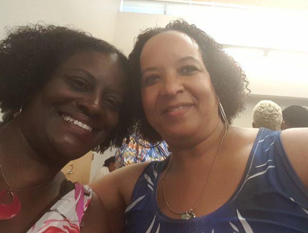 Kimani Romance authors Reese Ryan and Deborah Mello