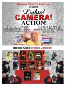 Lights, Camera, Action Girls Night Out Party