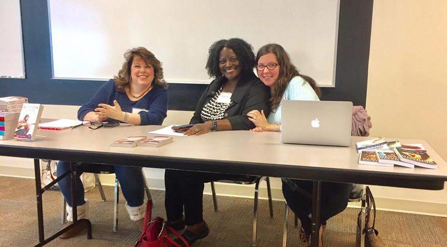 North Carolina authors Reese Ryan, Samantha Chase and Marquita Valentine